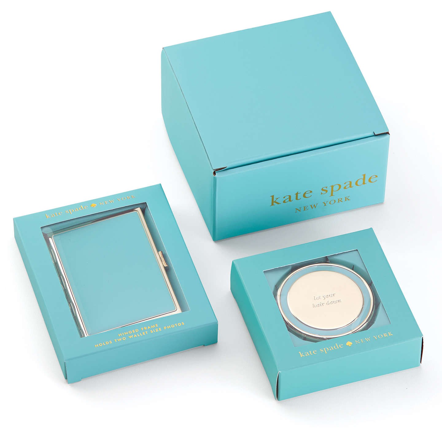Kate spade new york holly drive compact mirror at john lewis for Mirror spades