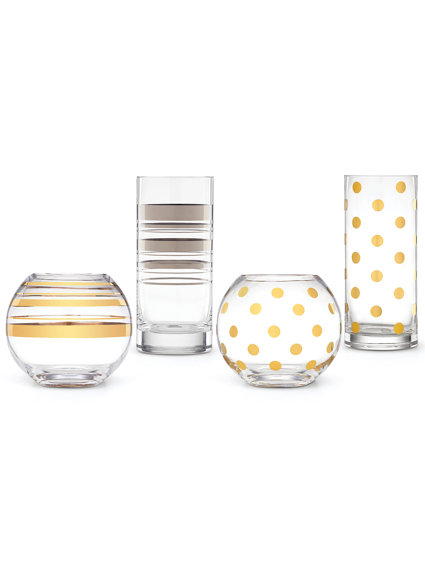 Buykate spade new york Pearl Place Vase Online at johnlewis.com
