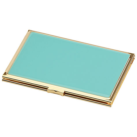 "Buy kate spade new york Hinged Pocket Frame, 2.5 x 3.5"", Turquoise Online at johnlewis.com"