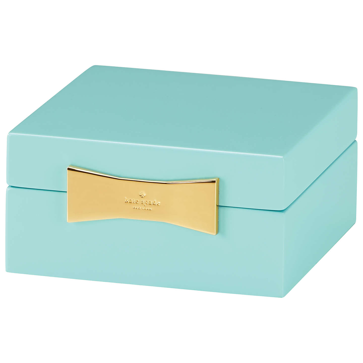 Buykate spade new york Garden Drive Jewellery Box, Turquoise Online at johnlewis.com