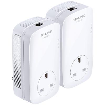 TP-LINK AV1200 Gigabit Passthrough Powerline Starter Kit, TL-PA8010PKIT