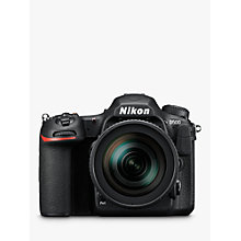 "Buy Nikon DX D500 Digital SLR Camera With 16-80mm VR Lens, 4K Ultra HD, 20.9MP, Wi-Fi/Bluetooth/NFC, 3.2"" Tiltable Touch Screen, Black Online at johnlewis.com"