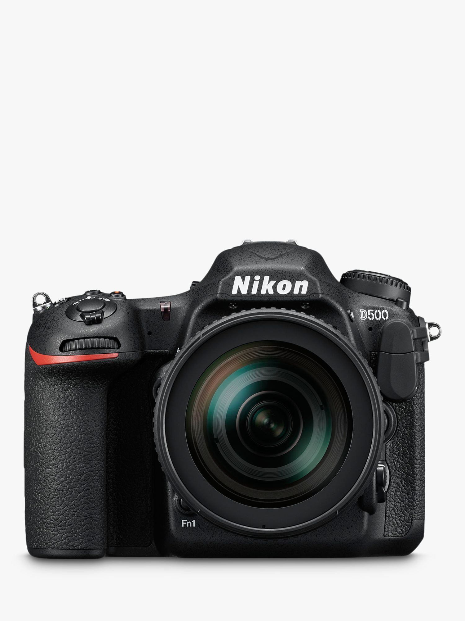 Nikon Nikon DX D500 Digital SLR Camera With 16-80mm VR Lens, 4K Ultra HD, 20.9MP, Wi-Fi/Bluetooth/NFC, 3.2 Tiltable Touch Screen, Black