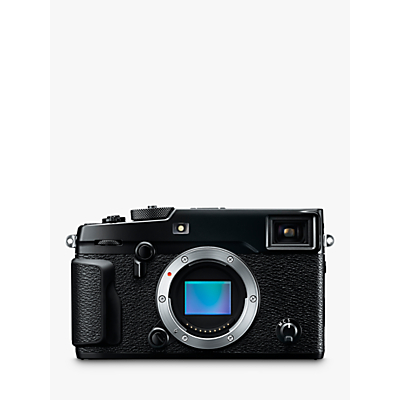 Fujifilm X-Pro 2 Compact System Camera, HD 1080p, 24.3MP, Wi-Fi, EVF, OVF, 3 LCD Screen, Body Only