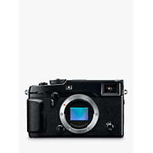 "Buy Fujifilm X-Pro 2 Compact System Camera, HD 1080p, 24.3MP, Wi-Fi, EVF, OVF, 3"" LCD Screen, Body Only Online at johnlewis.com"