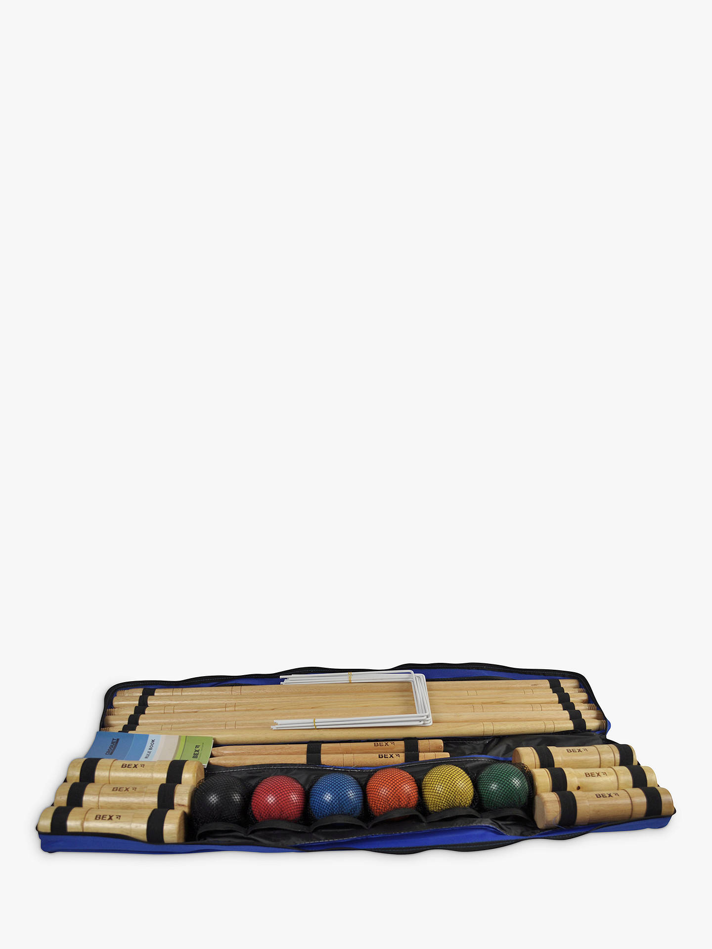 BuyBex Pro 6 Mallet Croquet Set Online at johnlewis.com