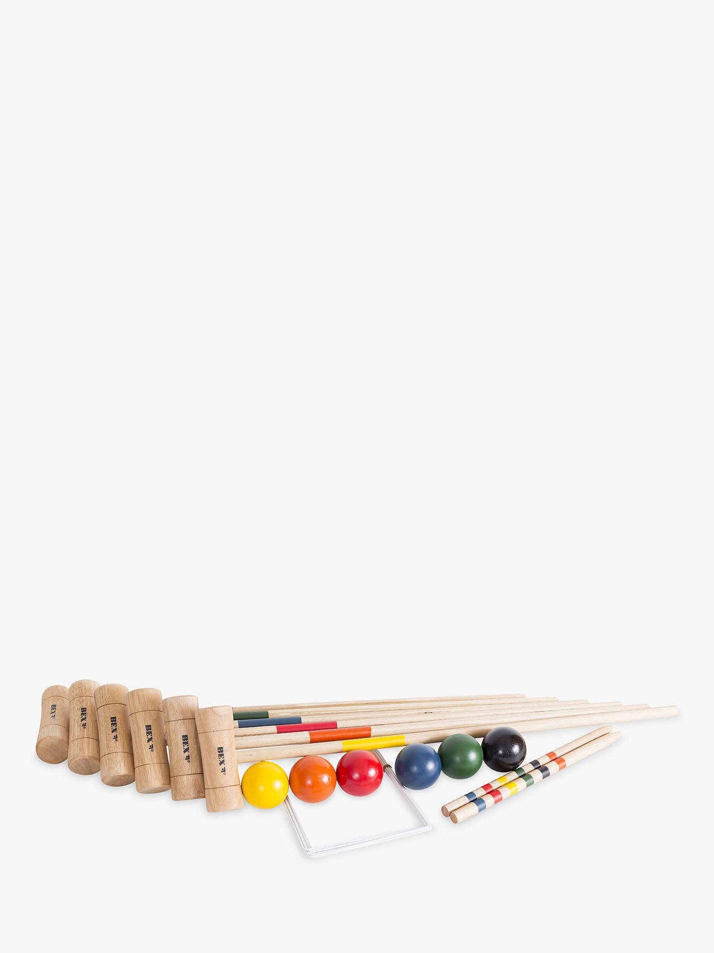 Buy Bex 6 Mallet Croquet Set Online at johnlewis.com