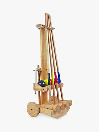 Bex 4 Mallet Croquet Trolley Set