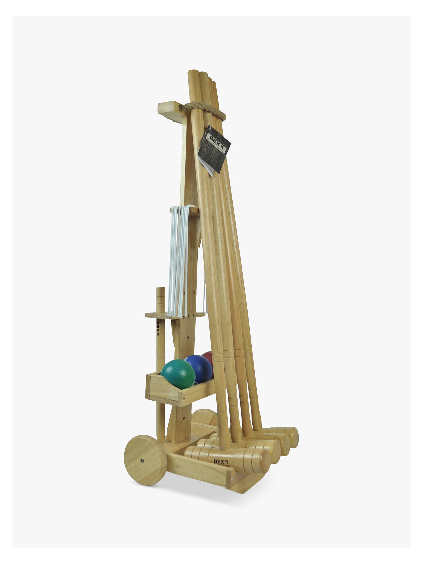 BuyBex Pro 4 Mallet Croquet Set Online at johnlewis.com