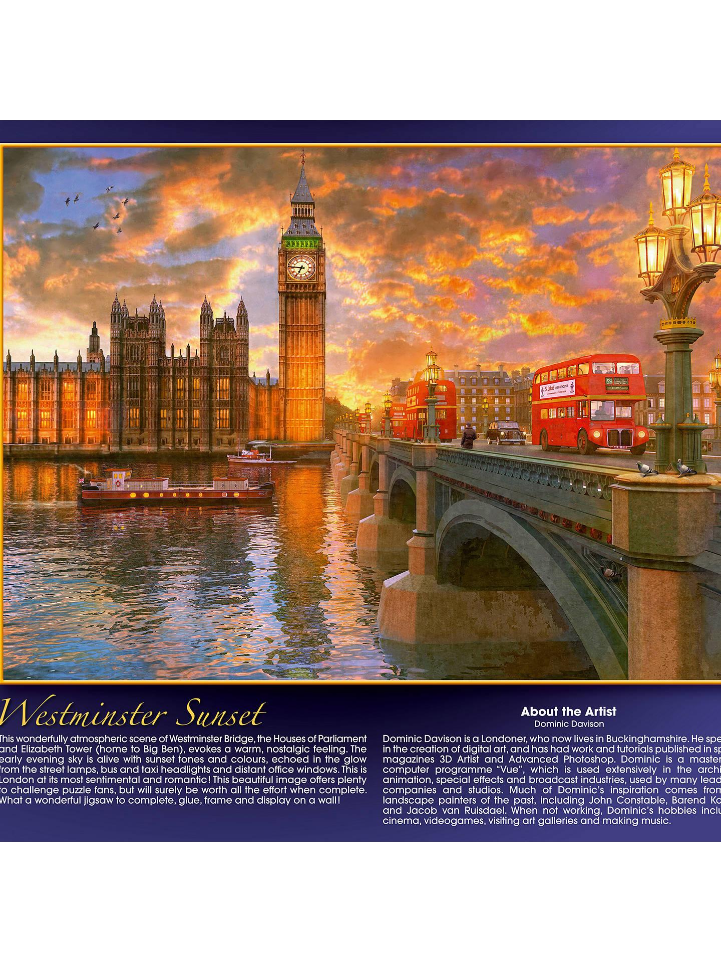96c753ebafc3 Ravensburger Westminster Sunset Jigsaw Puzzle
