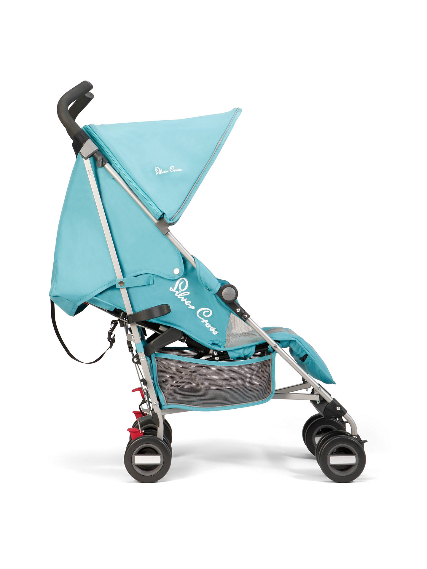 BuySilver Cross Zest Stroller, Aqua Online at johnlewis.com