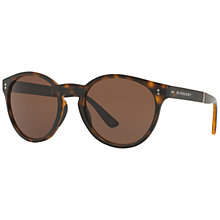 Buy Burberry BE4221 Round Sunglasses Online at johnlewis.com