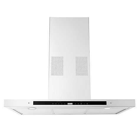 Buy John Lewis JLHDA916 Connectivity Chimney Cooker Hood, Stainless Steel Online at johnlewis.com