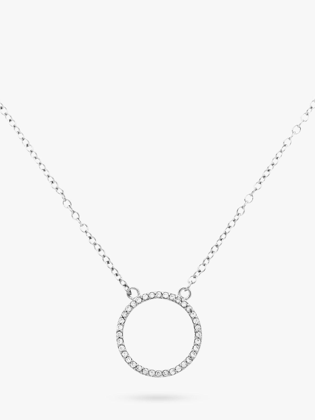 Melissa Odabash Melissa Odabash Crystal Circle Necklace