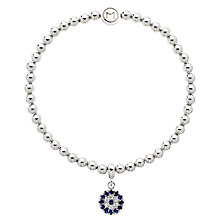 Buy Melissa Odabash Glass Crystal Evil Eye Bracelet Online at johnlewis.com