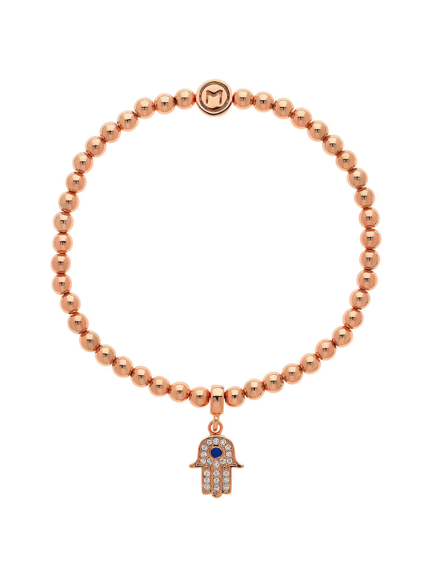 Melissa Odabash Hamsa Bracelet Rose Gold Online At Johnlewis