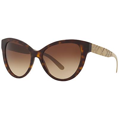 Burberry BE4220 Gradient Cat's Eye Sunglasses