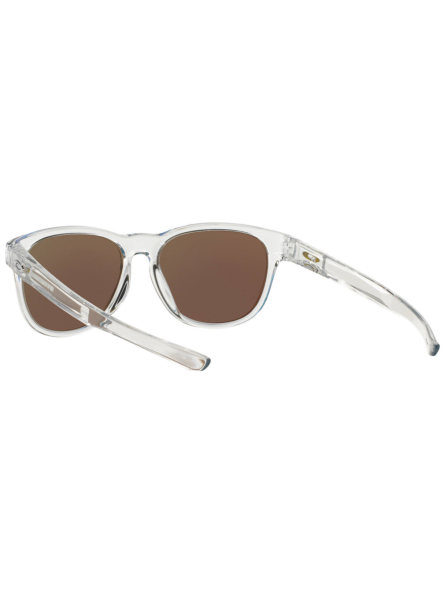 BuyOakley OO9315 Men's Stringer Oval Sunglasses, Clear/Blue Online at johnlewis.com