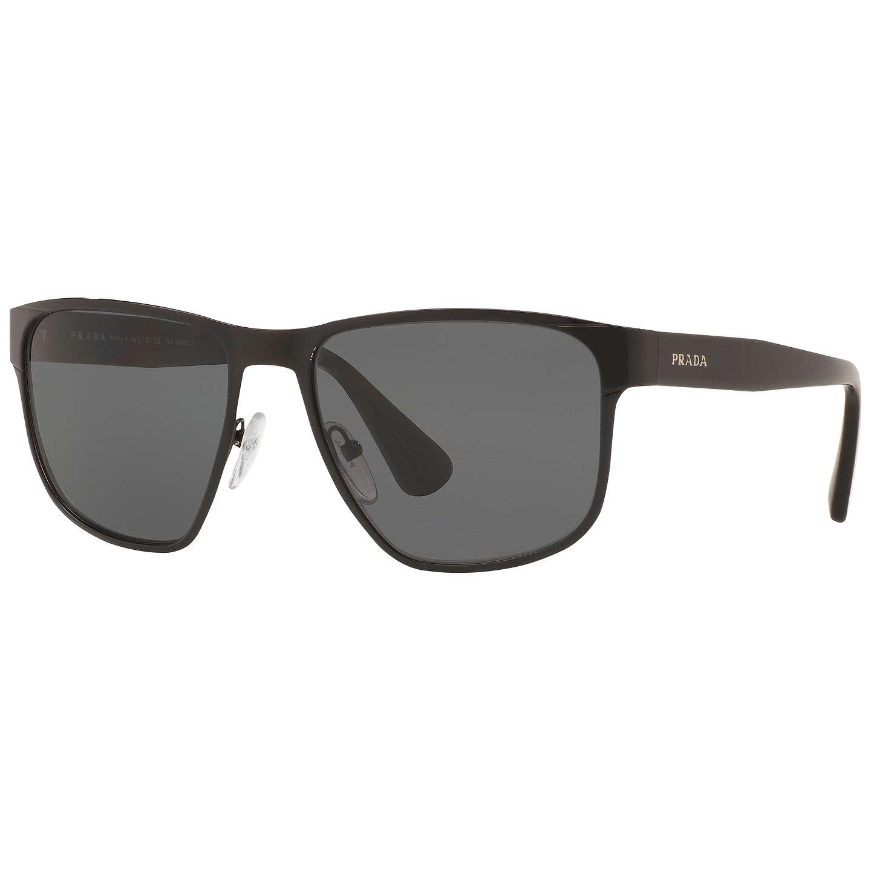 08a2ec4cf3f ... 50% off prada pr 51os sunglasses prada. buyprada pr55ss polarised  square sunglasses black online
