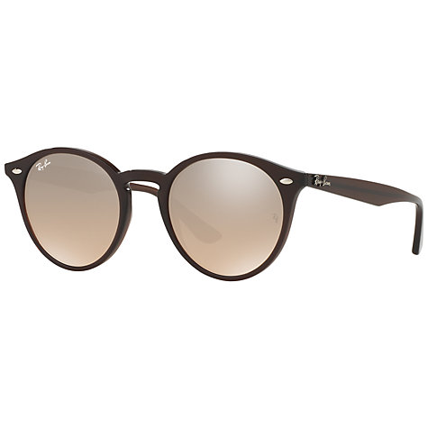 ray ban rb2180 round framed sunglasses tortoise  buy ray ban rb2180 round framed sunglasses online at johnlewis
