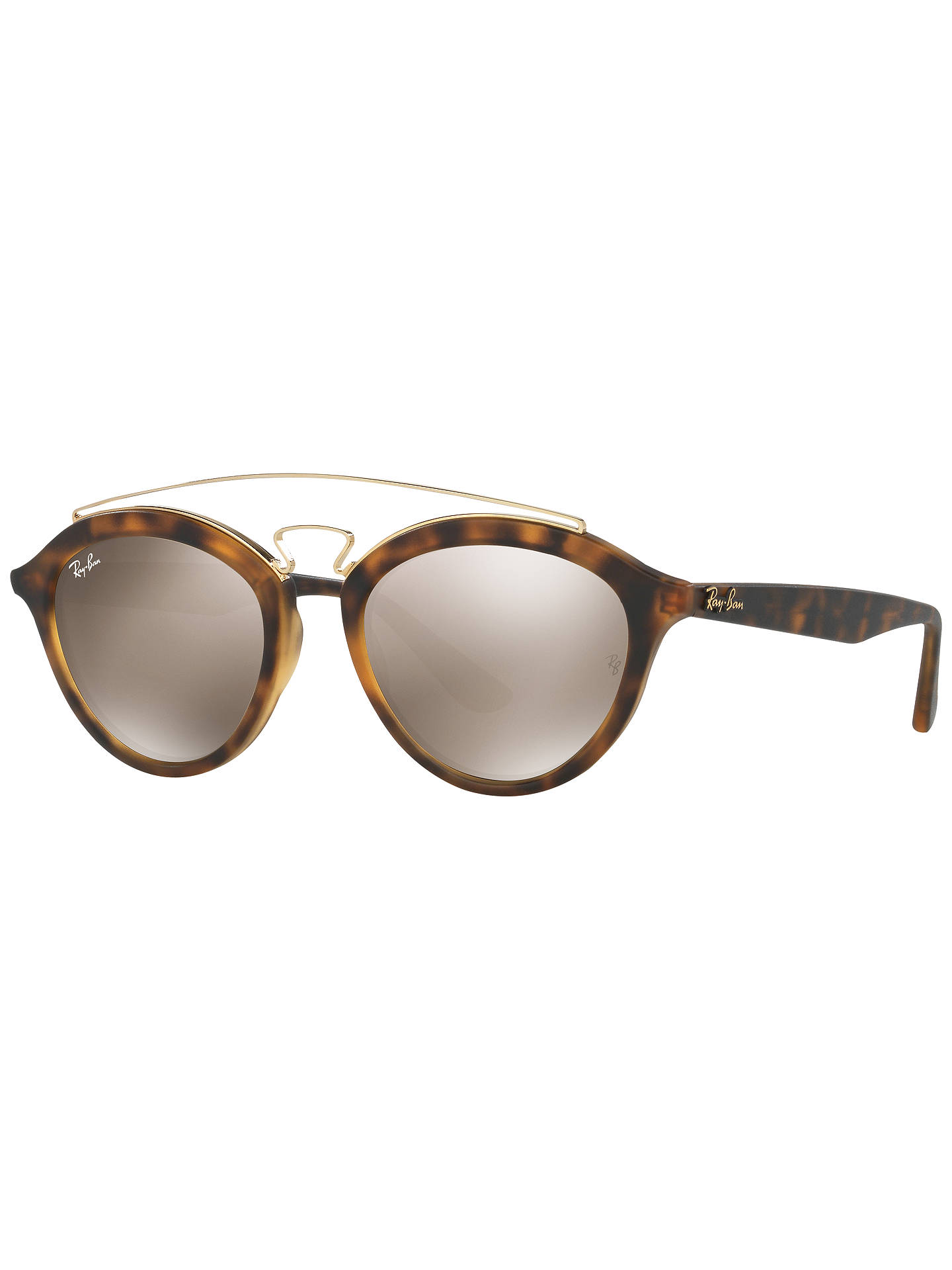 1562f06f47 Ray-Ban RB4257 Oval Sunglasses at John Lewis   Partners