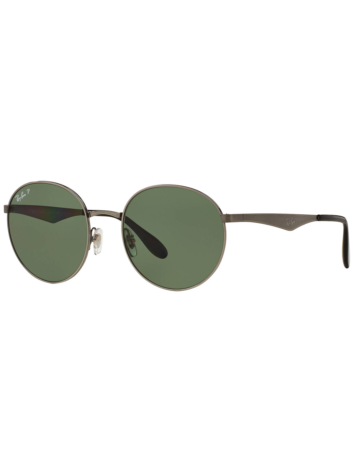 f60ac2dccb BuyRay-Ban RB3537 Highstreet Polarised Round Sunglasses