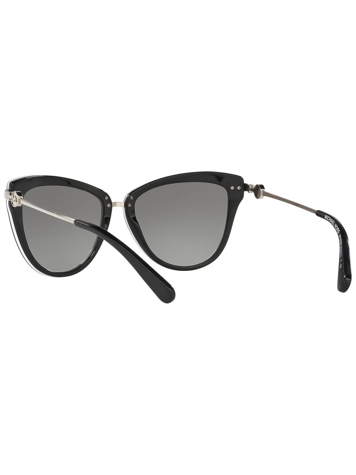 BuyMicheal Kors Round,Sunglasses, Black Online at johnlewis.com