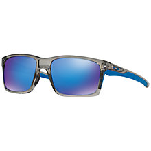 Buy Oakley OO9264 Mainlink Rectangular Sunglasses Online at johnlewis.com