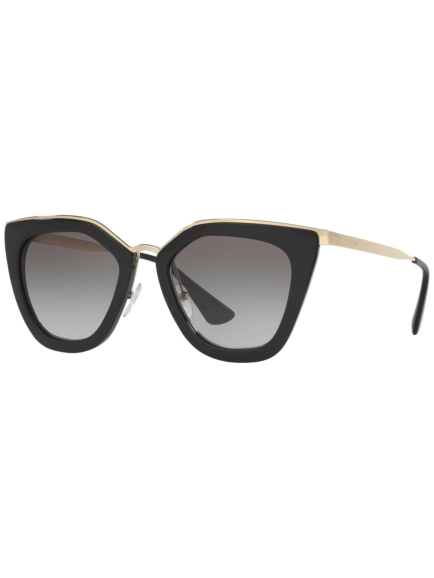 Prada Pr 53 Ss Gradient Cat's Eye Sunglasses, Black by Prada