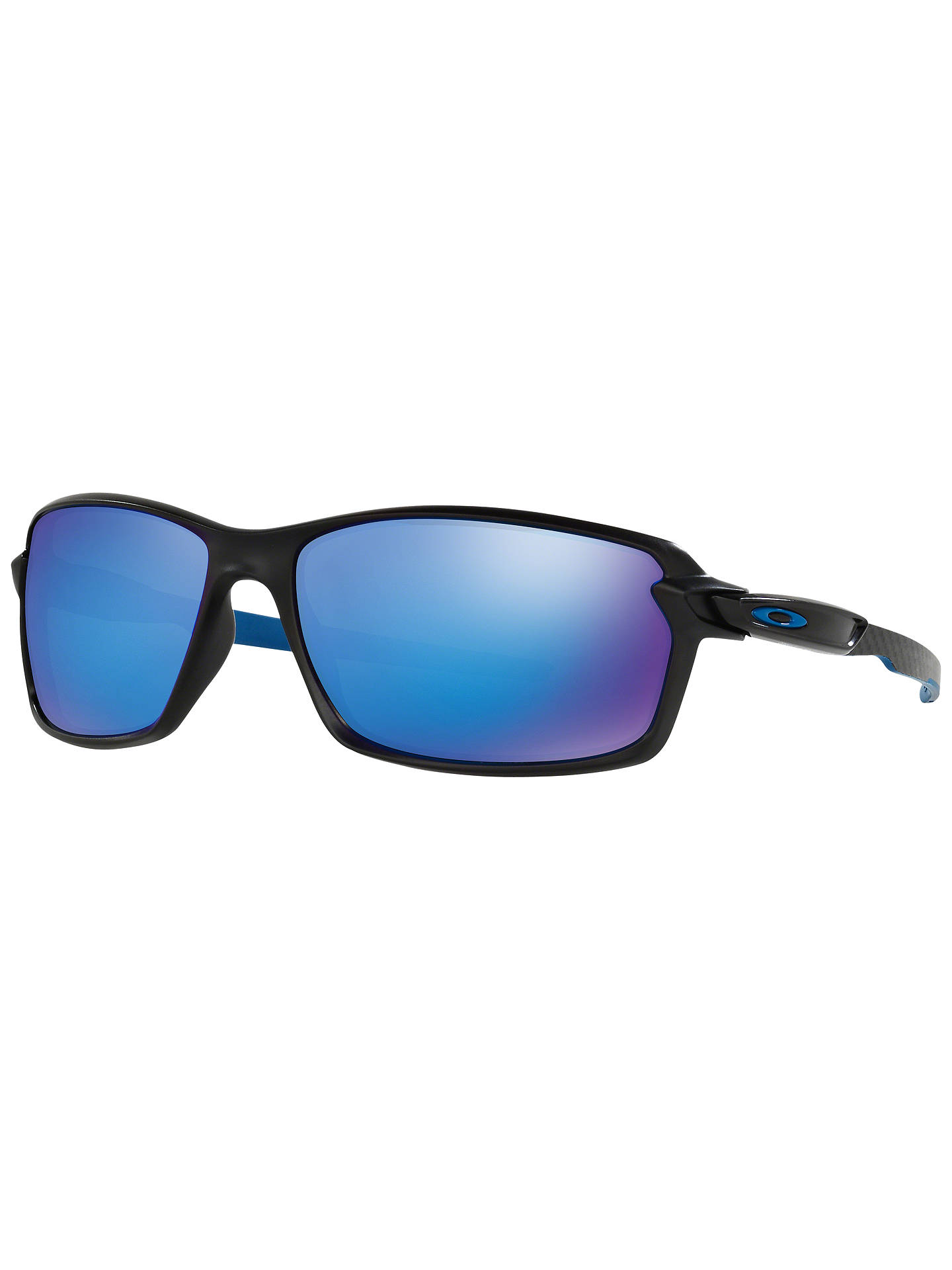 4c75bfeb8d74 Buy Oakley OO9302 Carbon Shift Rectangular Framed Sunglasses, Black Matte  Online at johnlewis.com ...