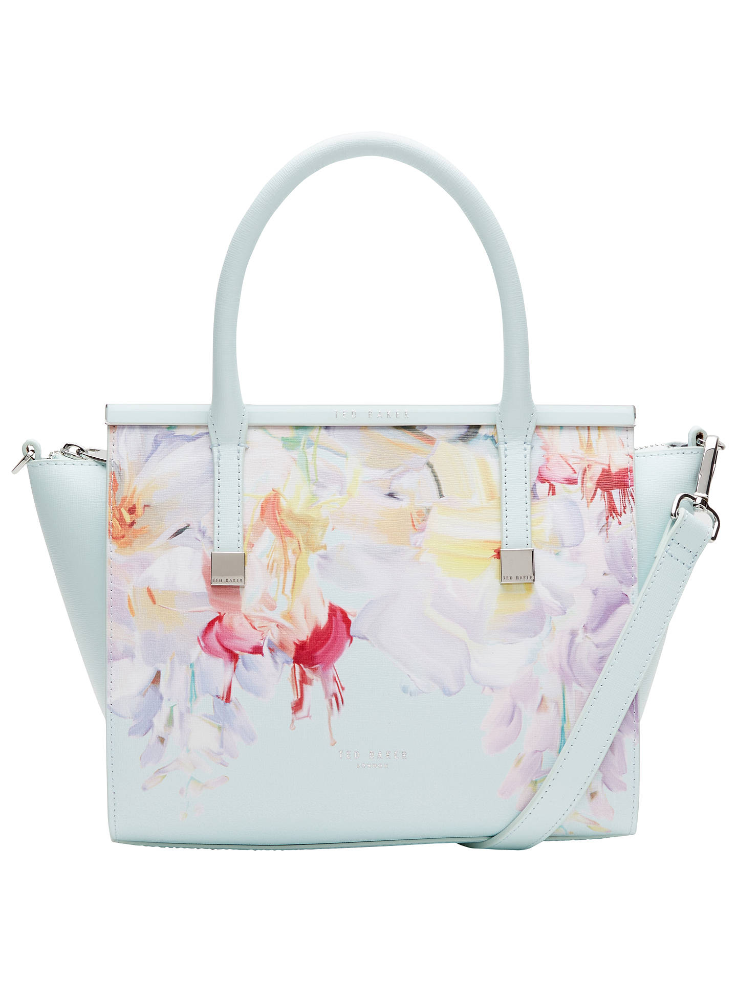 6454e308b9249 Buy Ted Baker Honora Hanging Gardens Crosshatch Leather Tote Bag
