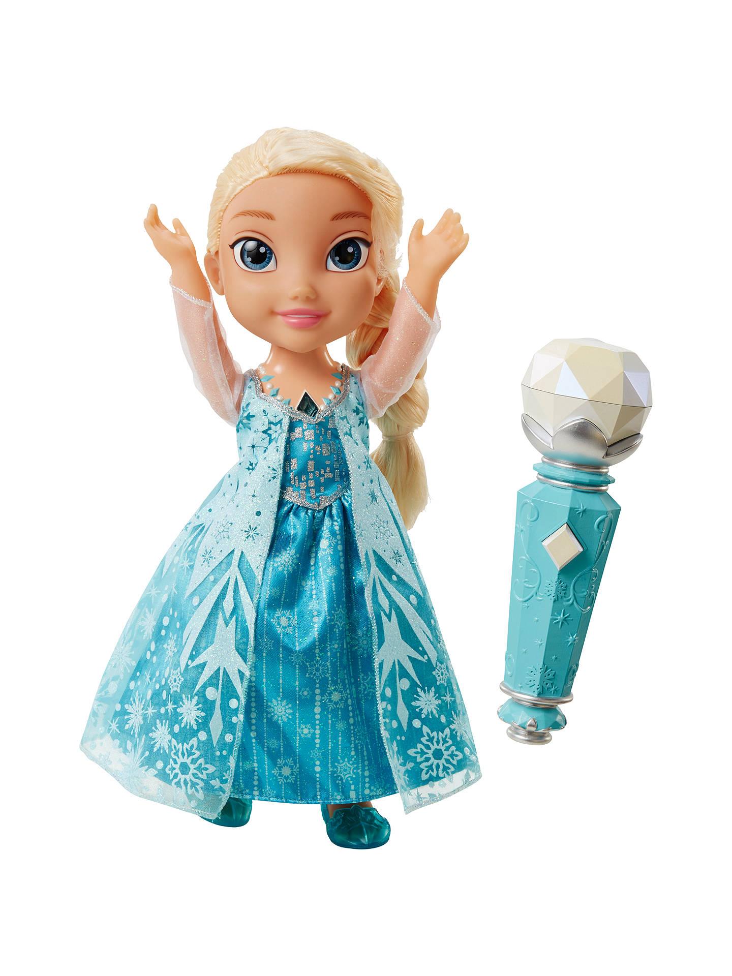 Disney Princess Frozen Sing A Long With Elsa Doll At John Lewis