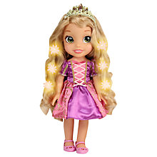 Buy Disney Princess Rapunzel Hair Glow Doll Online at johnlewis.com