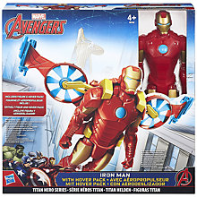Buy Avengers Iron Man and Hover Pack Online at johnlewis.com