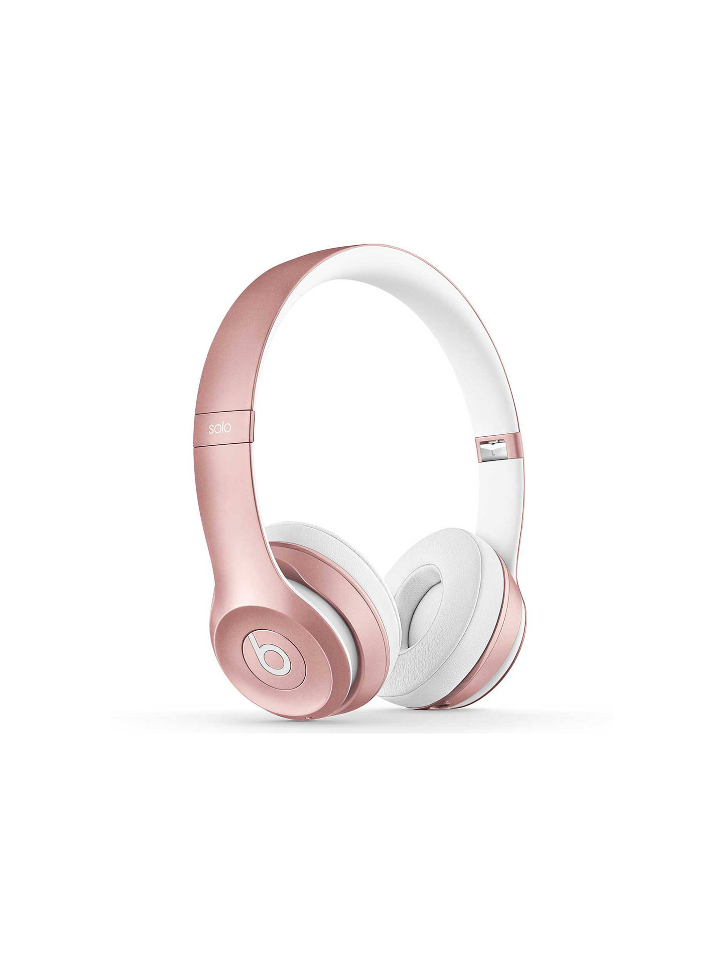 Buy Beats™ by Dr. Dre™ Solo 2 Wireless On-Ear Headphones with Bluetooth, Icon Collection, Rose Gold Online at johnlewis.com