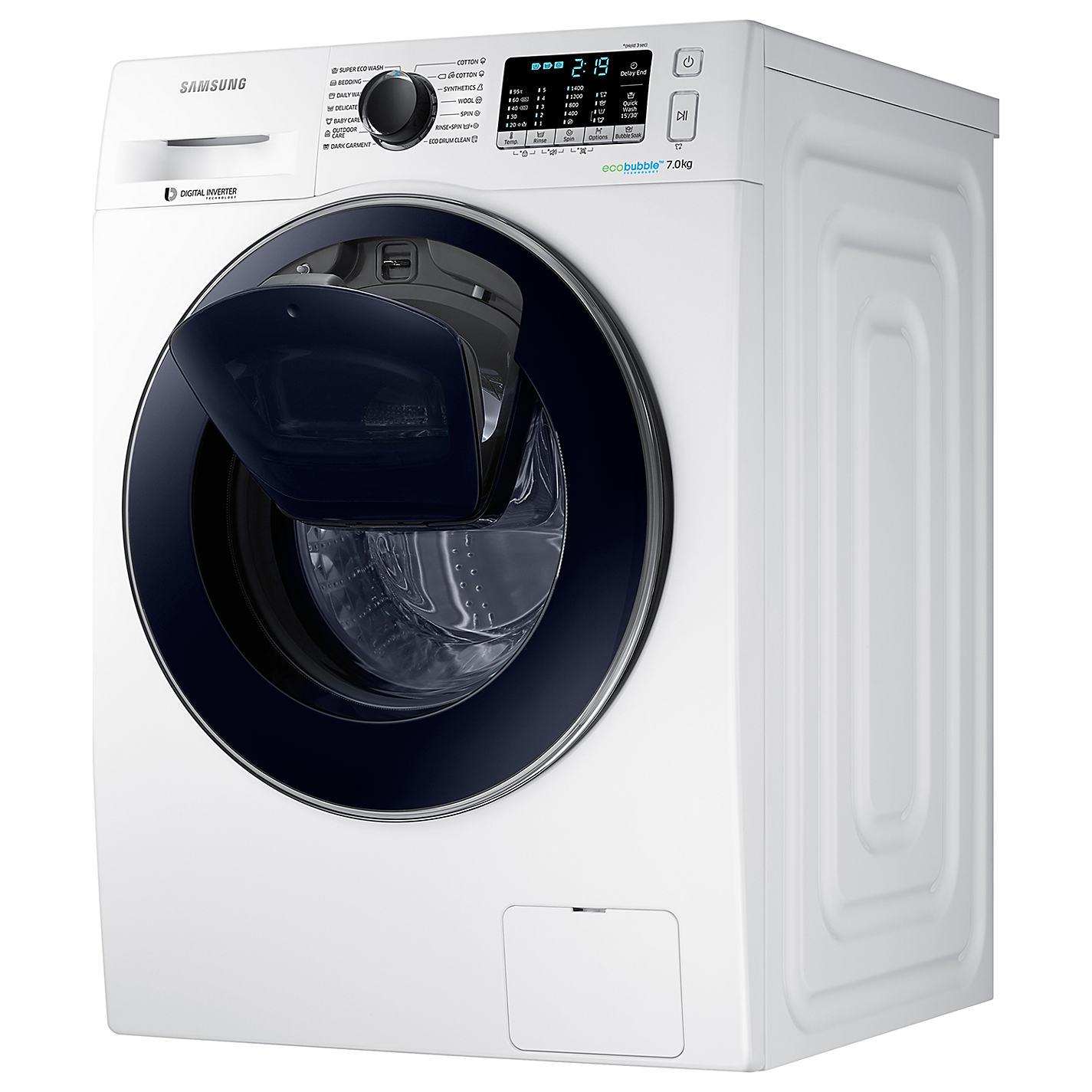 buy samsung addwash ww70k5410uw washing machine 7kg load a energy rating 1400rpm spin