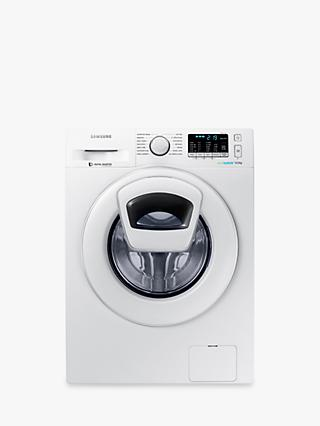 Samsung AddWash WW90K5410WW/EU Washing Machine, 9kg Load, A+++ Energy Rating, 1400rpm Spin, White