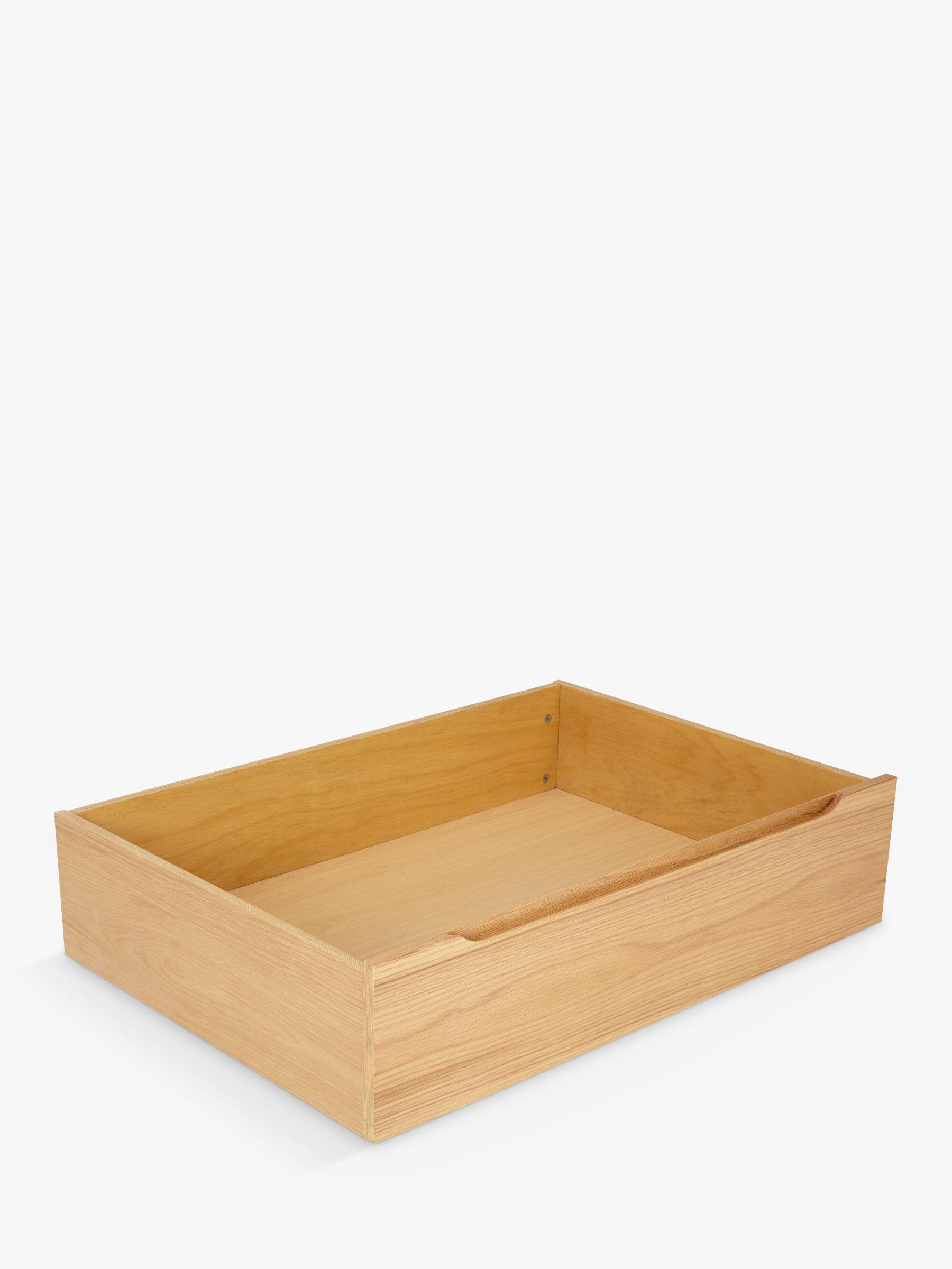 John Lewis & Partners Bow Underbed Storage Drawers, Set of 2