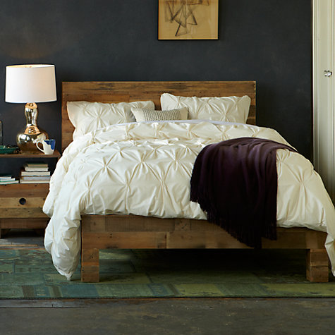 buy west elm emmerson bed frame king size online at johnlewiscom