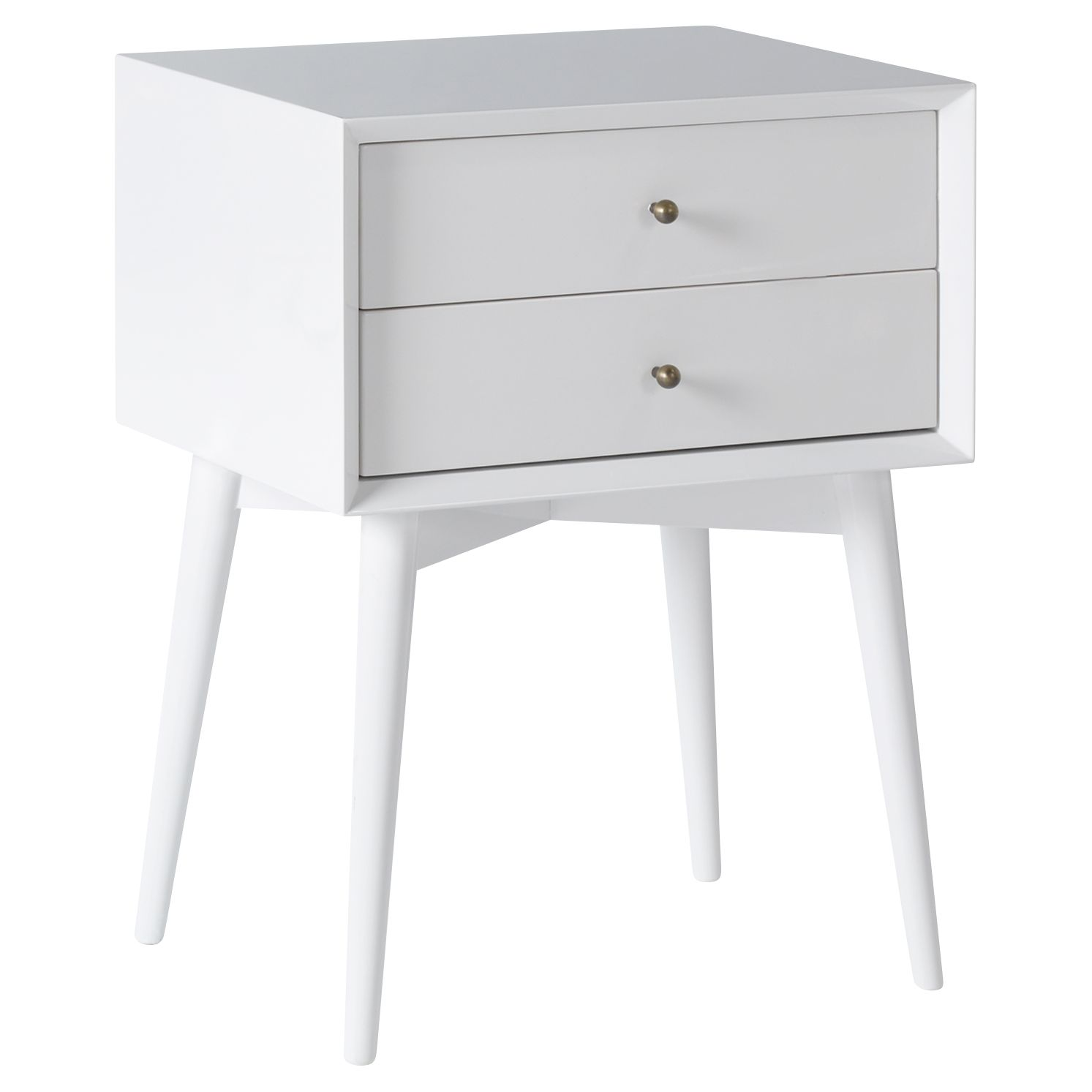 Picture of: West Elm Mid Century Bedside Table At John Lewis Partners