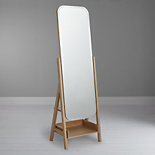 Buy Design Project by John Lewis No.049 Mirror, Oak Online at johnlewis.com