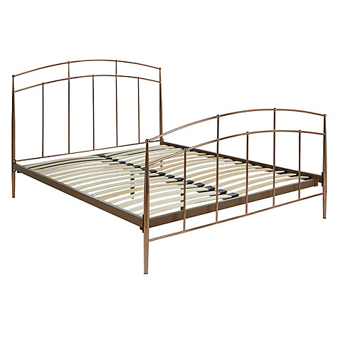 buy john lewis alexia bed frame double online at johnlewiscom