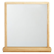 Buy ercol for John Lewis Shalstone Tallboy Mirror Online at johnlewis.com