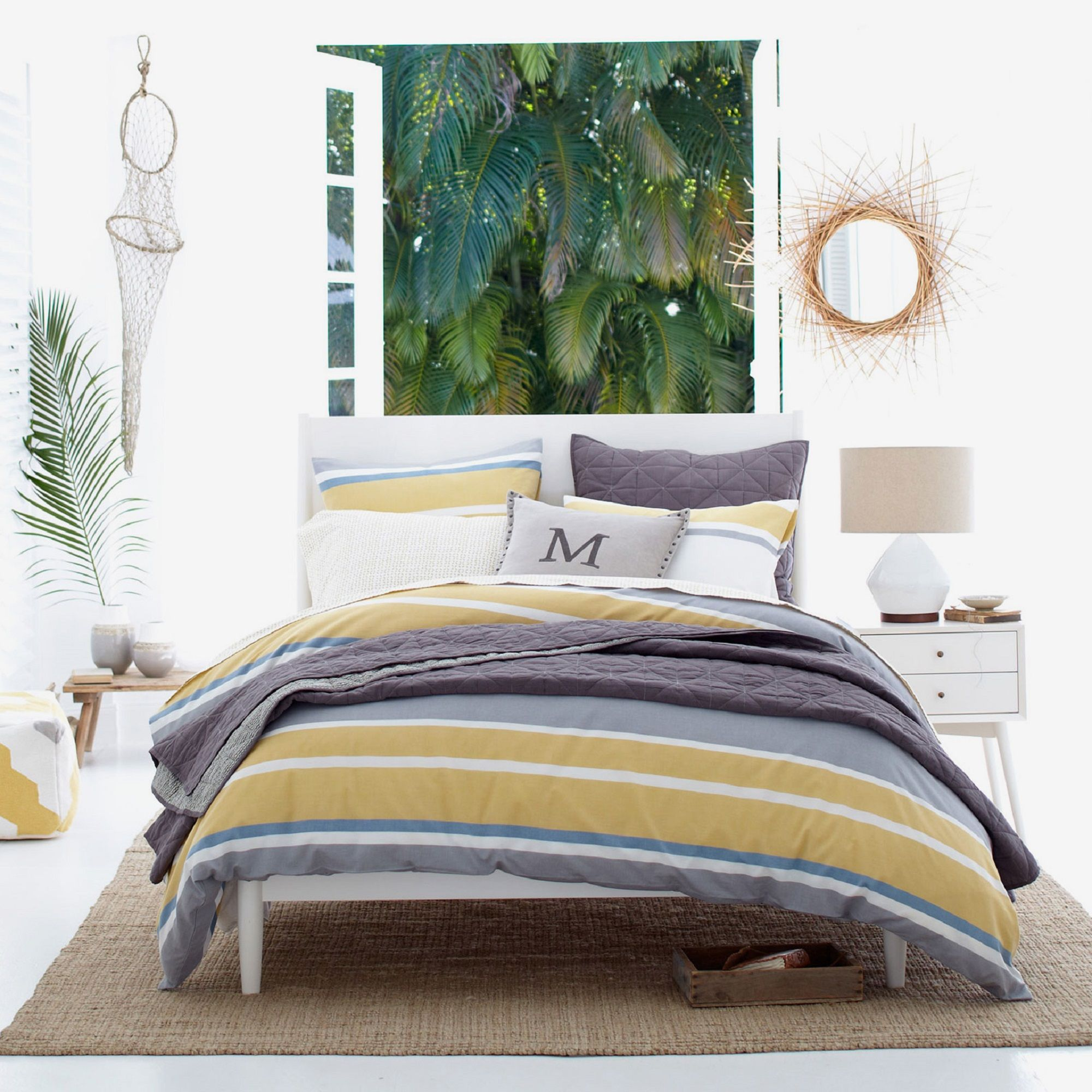 West Elm Mid Century Bed Frame King Size At John Lewis Partners