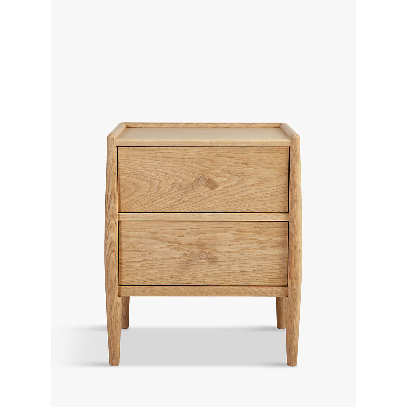 bed side furniture. buy ercol for john lewis shalstone 2 drawer bedside table online at johnlewiscom bed side furniture