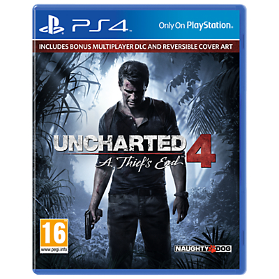 Uncharted 4: A Thief's End Launch Edition for PS4