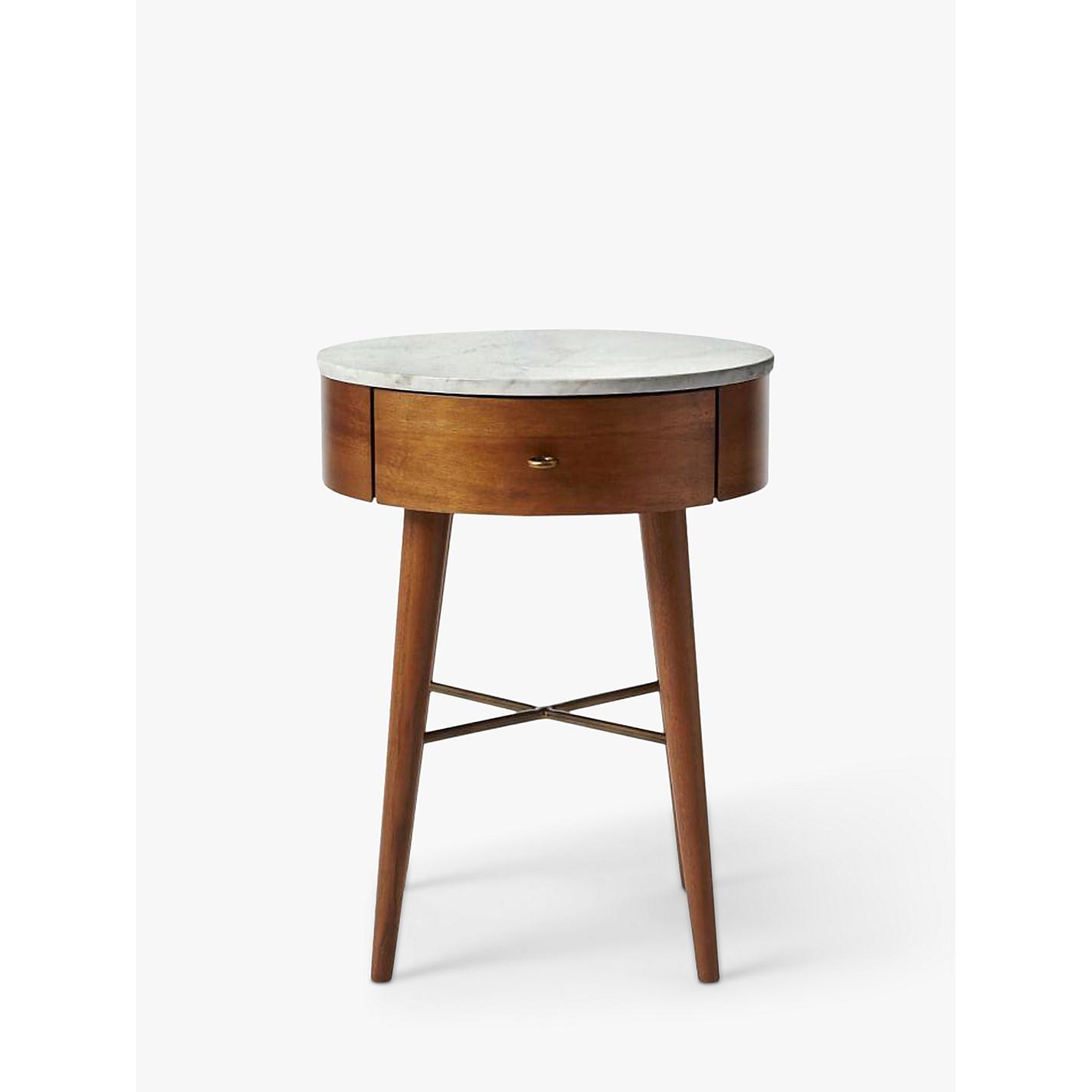 Buy west elm Penelope Bedside Table, Acorn Online at johnlewis.com ...
