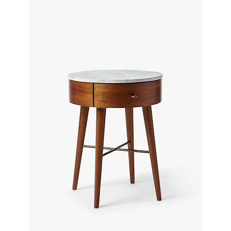 Buy west elm Penelope Bedside Table, Acorn Online at johnlewis.com