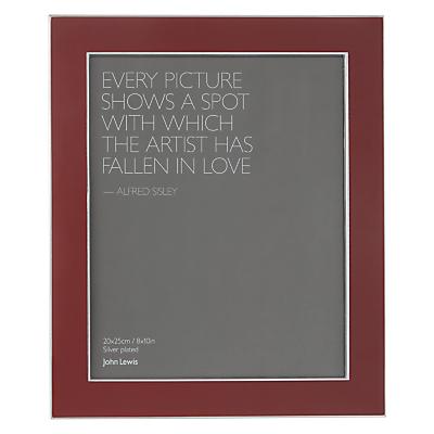 John Lewis Amy Photo Frame, 8 x 10