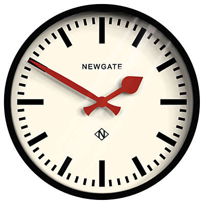 Newgate The Luggage Clock, Dia.30cm